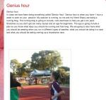 Genius Hour 1